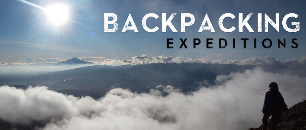 Backpacking Banner